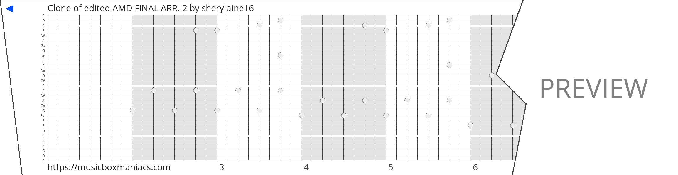 Clone of edited AMD FINAL ARR. 2 30 note music box paper strip
